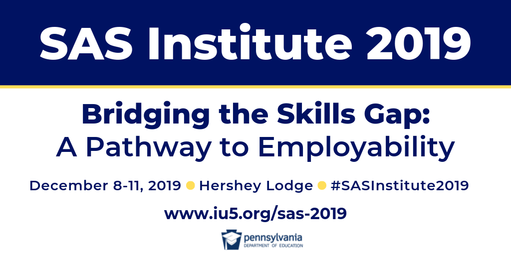 Join us at the SAS Institute 2019!