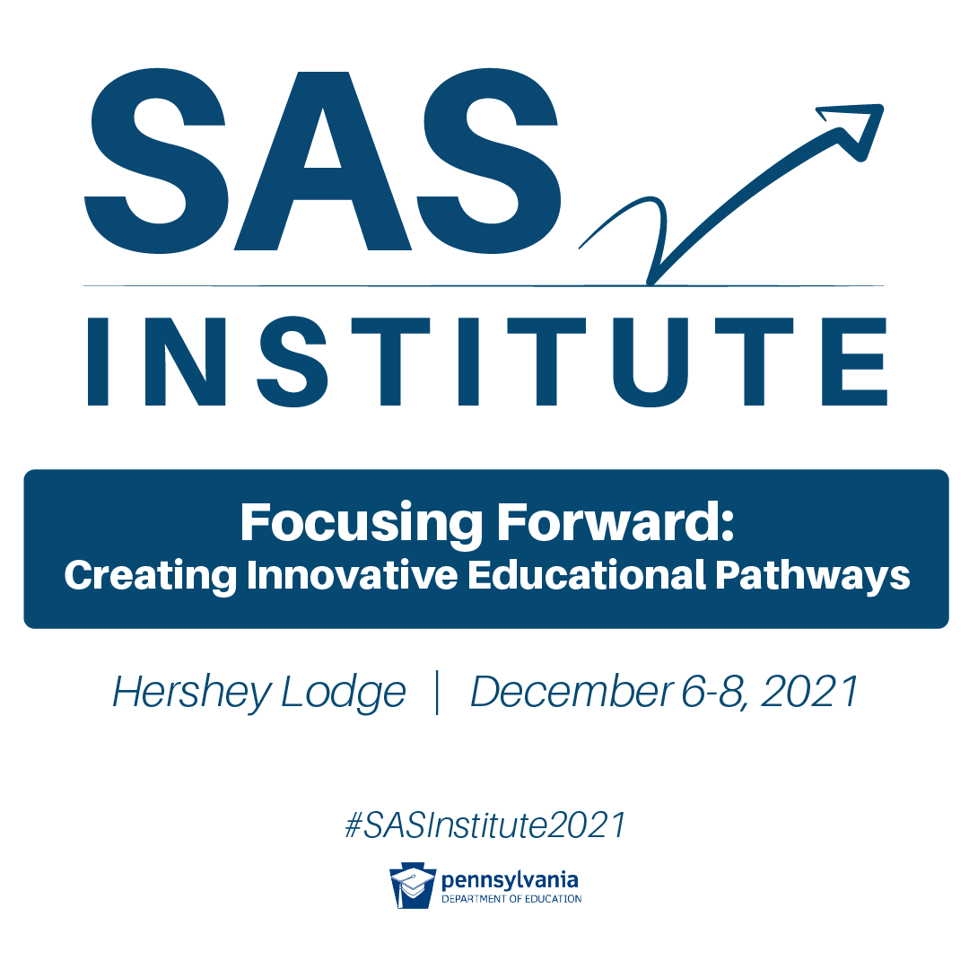 Are You Ready to Focus Forward?  Join Us at the SAS Institute!