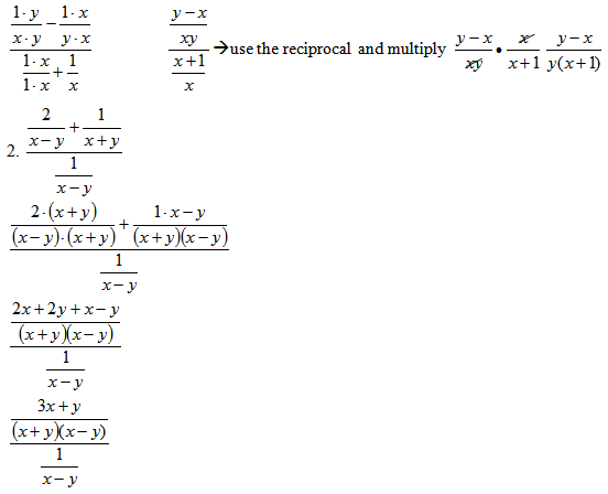 Simplifying Complex Rational Expressions SAS – Simplifying Rational Expressions Worksheet